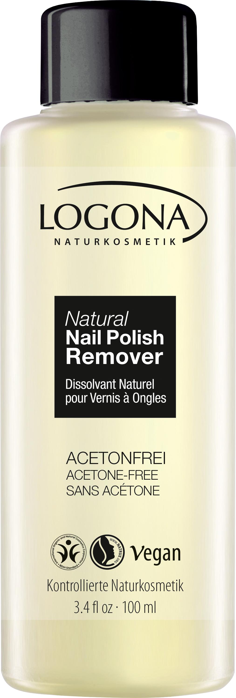 Natural Nail Polish Remover | LOGONA Naturkosmetik