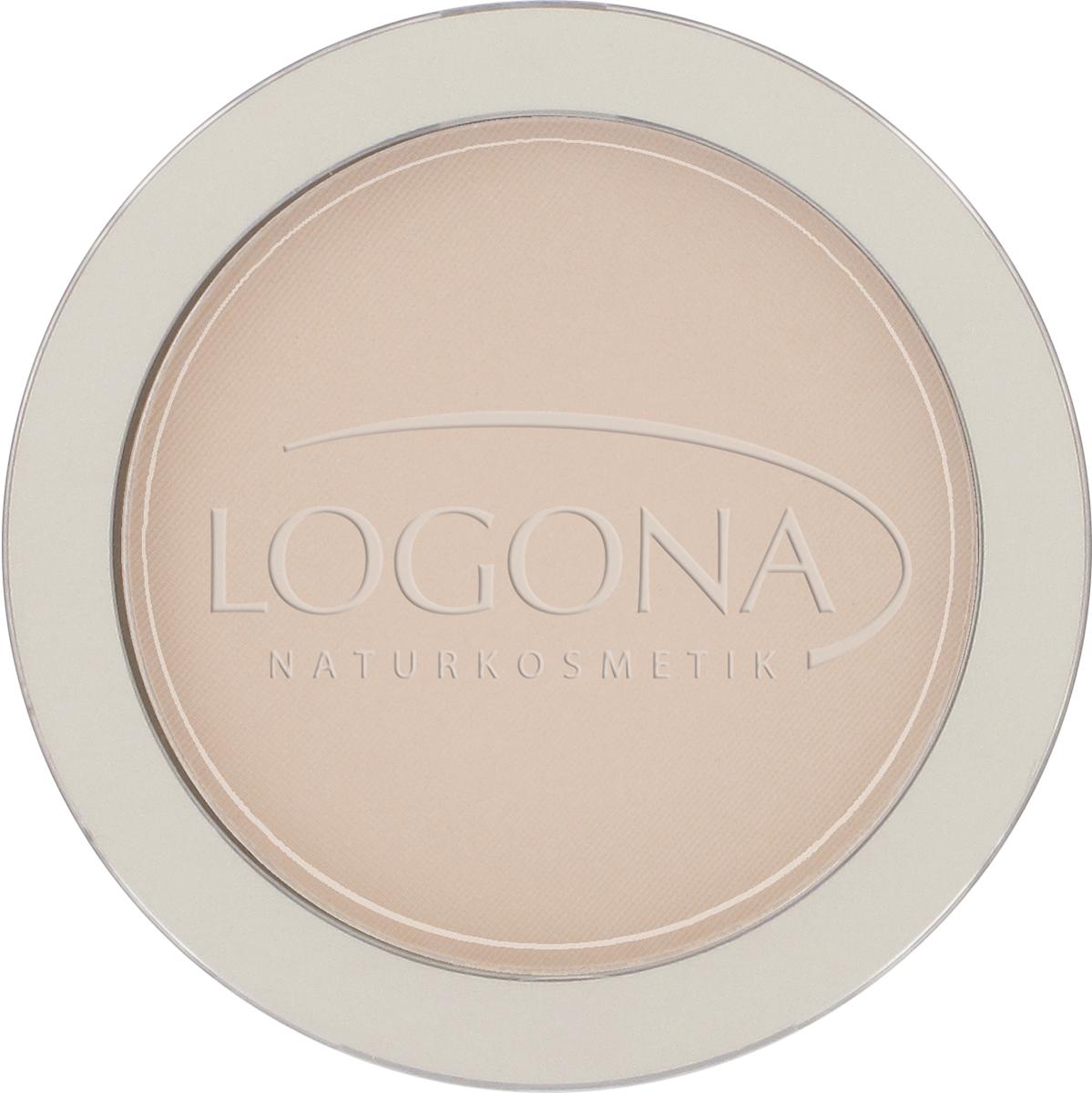 face powder no 02 medium beige logona naturkosmetik. Black Bedroom Furniture Sets. Home Design Ideas